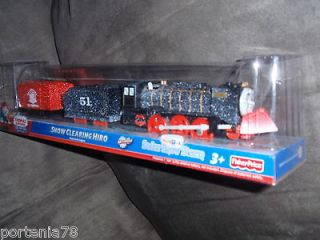 The Train Trackmaster Motorized REMOTE CONTROL HIRO & Victor Lot of 2