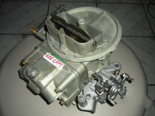 Rebuilt Holley 500 cfm List #4412 2 Carburetor WITH MANUAL