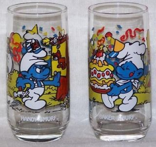 smurfs glasses in Animation Art & Characters