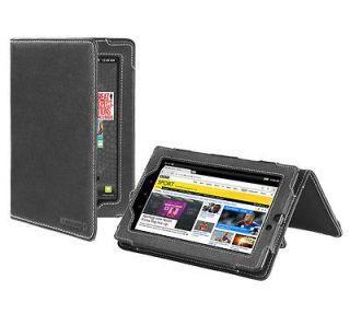 Cover Up Kobo Vox eReader / Tablet Leather Case (Flip Stand)   Black