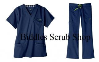 Med 7400/7300 Newport Navy Mens Icon Medical Scrub Set NWT New Style