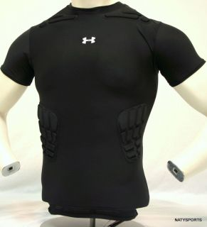 Under Armour Mens Impact Padded Short Sleeve Shirt 1000140
