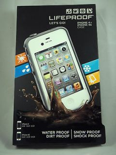 Lifeproof iPhone 4 4S Case Life Proof Generation 2 White Cover New In