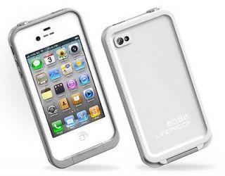 LIFEPROOF Iphone Case 4/4s waterproof, shock proof, dirt proof WHI