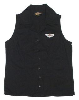 DAVIDSON MOTOR CLOTHES 100YR Anniversary Womens Tank Top/Vest S