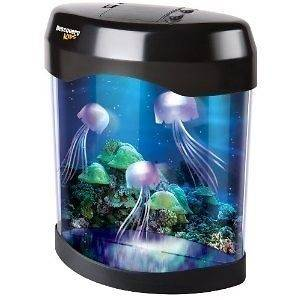 NEW Discovery Kids 5 Color LED Animated Jellyfish Lamp/Night Light