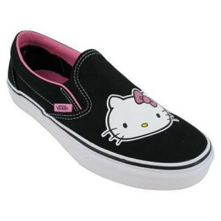 Vans Unisex Hello Kitty slip on canvas skateboard shoes  Style VN