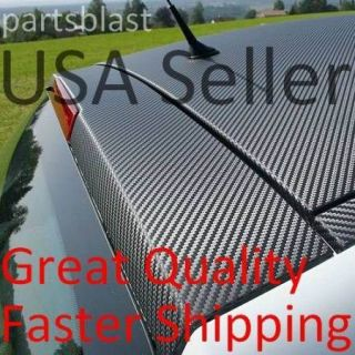 12 x 60 BLACK CARBON FIBER VINYL AUTO CAR WRAP sheet roll film