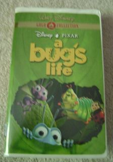 Disney Pixar A Bugs Life Group Cover VHS Movie