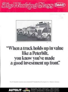 1978 Peterbilt 359 Truck Brochure Mayfield Mableton GA