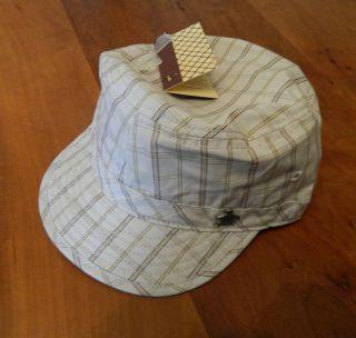 NEW GENUINE Original Penguin Mens Checkered Baseball Cap / Hat   RRP