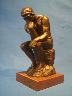 The Thinker Auguste Rodin Le Penseur Sculpture by Austin Production