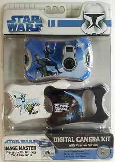 Star Wars Digital Camera Kit NIP New in Package Sakar Kids Childs