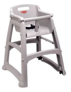 Rubbermaid RCP7806 Sturdy Industrial Restaurant Baby Child High Chair