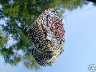 Cardinals World Series Championship Ring Edmonds not 2011 antique