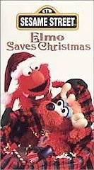 sesame street elmo saves christmas vhs in VHS Tapes