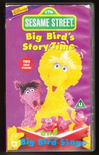 SESAME STREET   BIG BIRDS STORY TIME / BIG BIRD SINGS