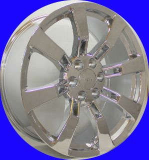 New Set of 22 Chrome Escalade Wheels for GMC Sierra Denali Yukon Rims