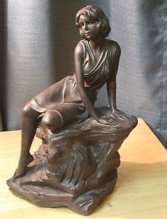 Maxfield Parrish Solitude Sculpture by Austin Products