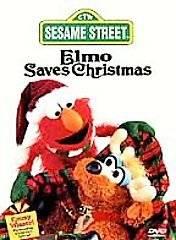 Sesame Street   Elmo Saves Christmas (DVD, 1997)