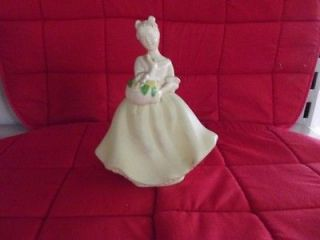Flower Girl vintage avon perfume bottle with Unforgetable still in it