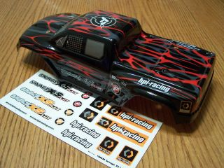 HPI Savage XS Flux Mini Truck GT 2XS Red Black Gray Factory Painted