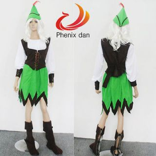 Robin Hood of Sherwood Maiden Fancy Dress Outfit Halloween Costumes S