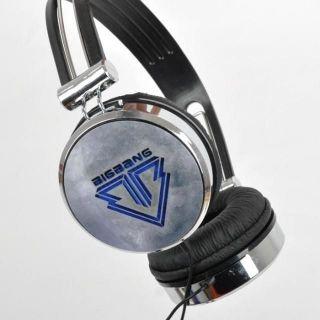 POP THIRD VERSION BIGBANG big bang with VIP KPOP BLACK EARPHONES
