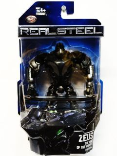 REAL STEEL DELUXE FIGURE ZEUS THE KING OF THE ROBOTS