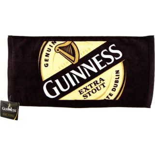 Guinness Extra Stout Bar Towel   Home Bar Accessories   Authentic