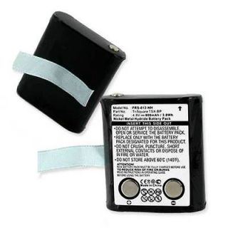 eXRS Battery for TriSquare Two Way Radios Replaces TSX BP 800mAh