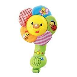 VTECH BABYS SOFT LEARNING SMILING FLOWER PUSH CHAIR TOY SUITABLE FROM