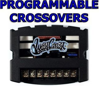 WEST COAST CUSTOMS PROGRAMMABLE CROSSOVERS (MOUNTABLE)