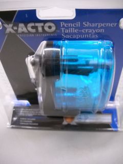 ACTO PENCIL SHARPENER WALL OR DESK MOUNT #1065 BLUE