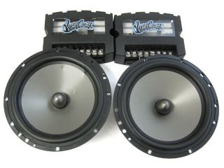 West Coast Customs WCC650 6 1/2 2 Way Convertible Coaxial Speakers