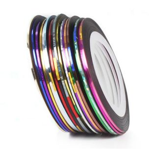 Newly listed Great Fashion 18 Color Rolls Striping Tape Line Nail Art