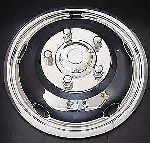 19.5 Chevy / GMC P30 Dually Wheel Covers simulators hubcaps front