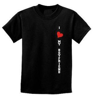LOVE MY BOYFRIEND T Shirt Woman's / Ladies Sizes XS to 4XL Color