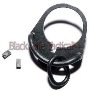 Black Rifle Sling Swivel Adapter for Single Point Tactical Sling
