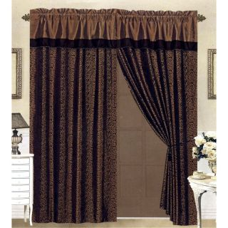 leopard print curtains in Curtains, Drapes & Valances