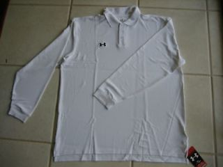 under armour long sleeve polo, Clothing,