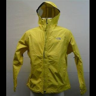 The North Face W Venture Jacket Rainwear Rain Coat Yellow Waterproof