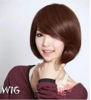Style Womens Girls Sexy Short Fashion Straight Hair Wig 3 Colors