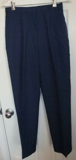 Army Service Uniform ASU Womens Dress Blue Enlisted Slacks Pants 4MR