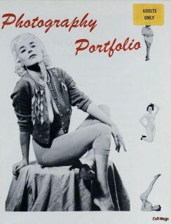 Photography Portfolio Vintage Erotica Sleaze girlie GGA