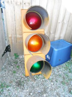 vintage traffic light in Traffic Lights & Signals
