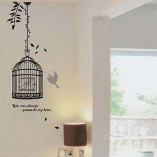 &Bird Wall Sticker Nursery Kids Decals Decor Removable Art Vinyl