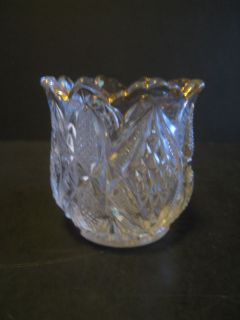 Antique EAPG Pattern, Pressed Glass Toothpick Holder