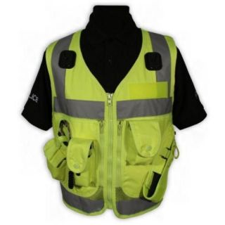 High Vis Yellow Advanced Tactical Police Security and Dog Handler Vest