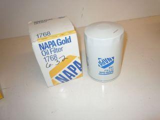 NAPA Gold 1768 Oil Filter 51768 LF3417 PH2842 BT292 Deutz Caterpillar